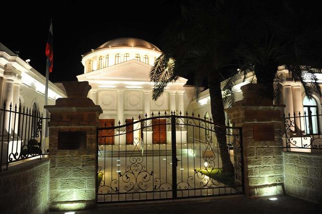 Основной вход в музейно-парковый комплекс в Иерихоне