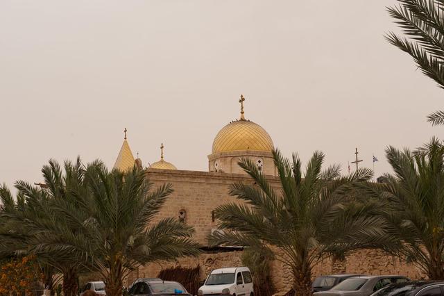 Общий вид монастыря с востока