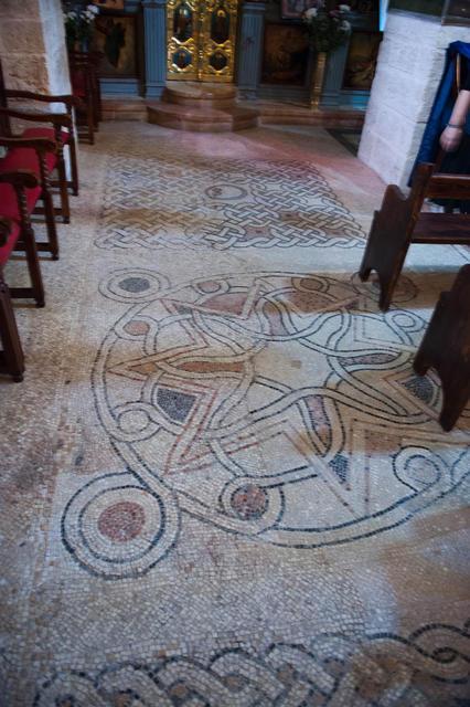 Древние сохранившиеся мозаики V века
