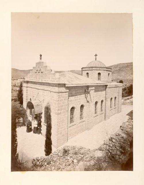 Вид на храм во имя Казанской иконы Божией Матери, освященный 14 февраля 1883 года