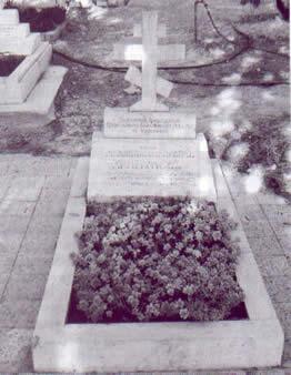 Могила генерала М. Г. Хрипунова на кладбище Гефсиманской обители. Фото: www.st-nikolas.orthodoxy.ru