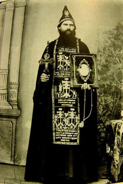 Схиигумен Парфений (Агеев). Фото предположительно 1850-е годы