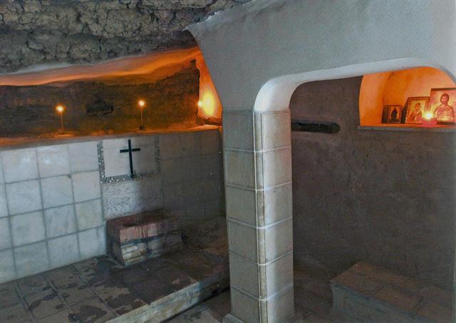 Источник Агиазма в Лавре преп. Саввы Освященного © Фотоархив Иерусалимского отделение ИППО