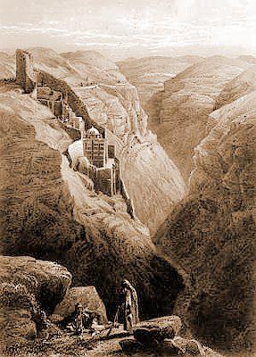 Литография Д. Робертса, 1839 г.