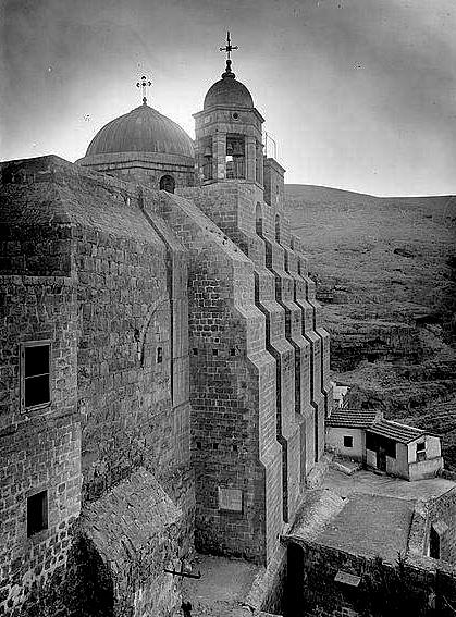 Лавра св. Саввы. Фото нач. XX века