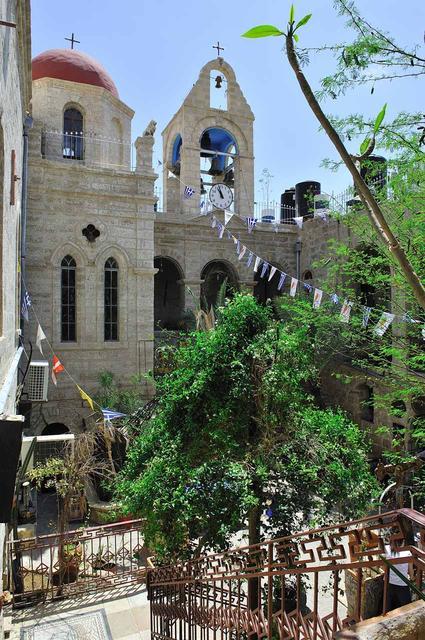Монастырь преп. Герасима Иорданского в Иорданской долине